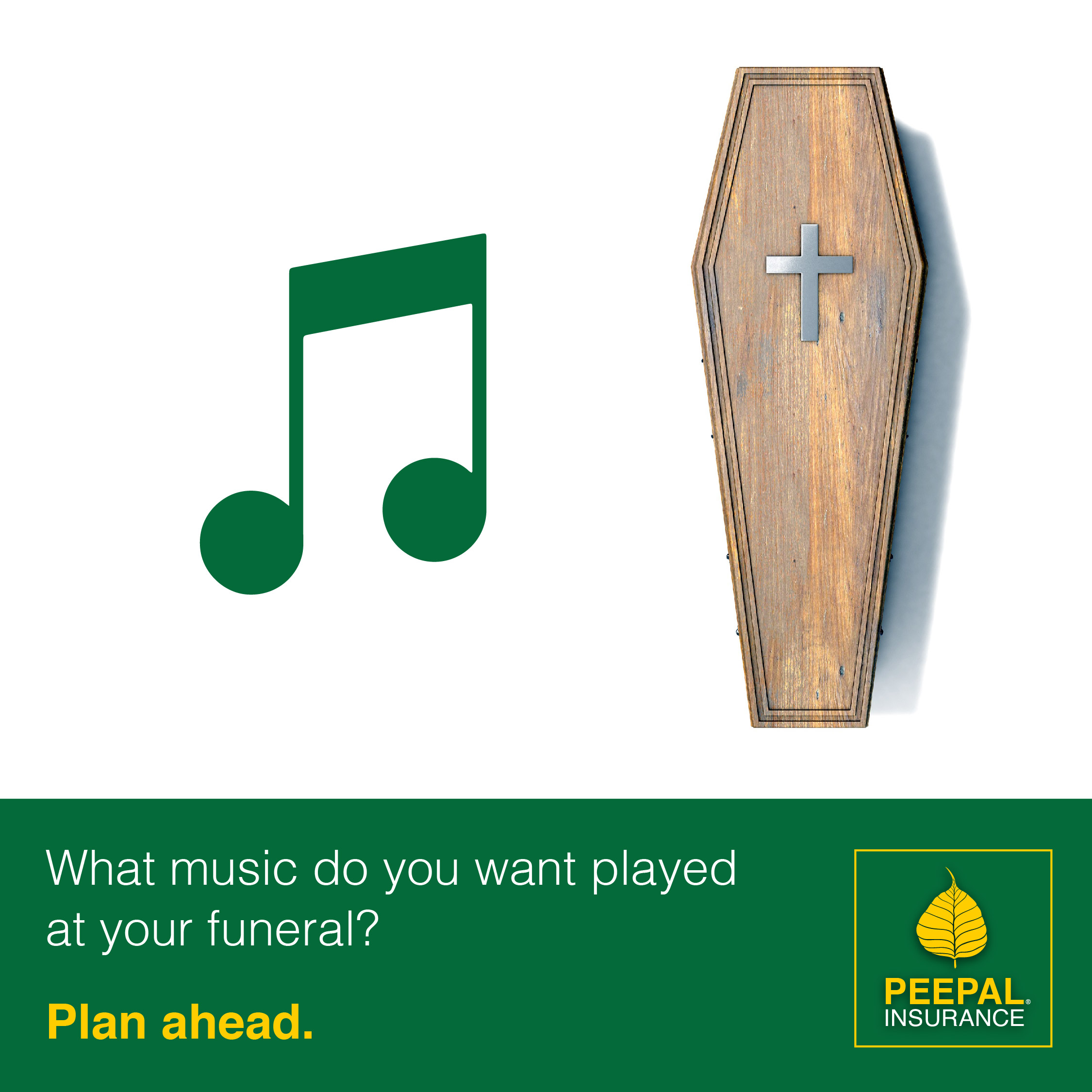 What music do you want played at your funeral?