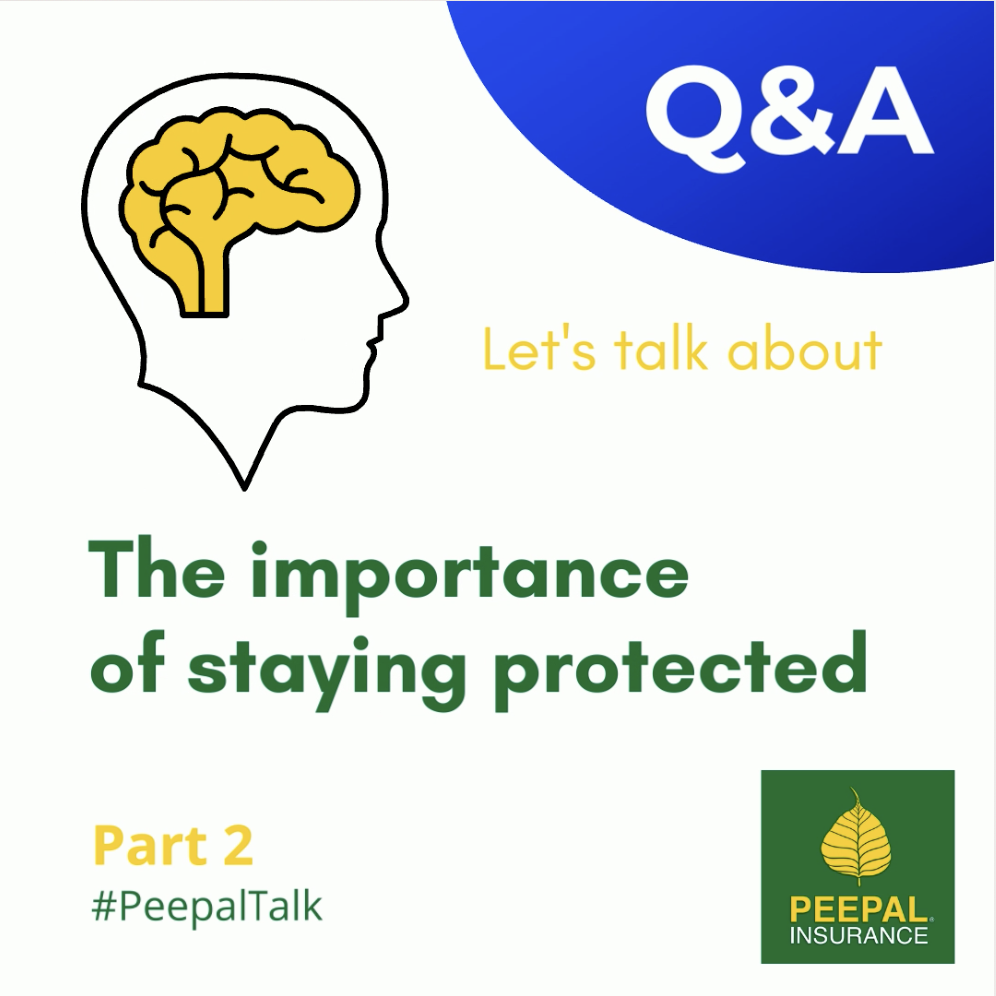 The importance of staying protected (Pt. 2) #PeepalTalk