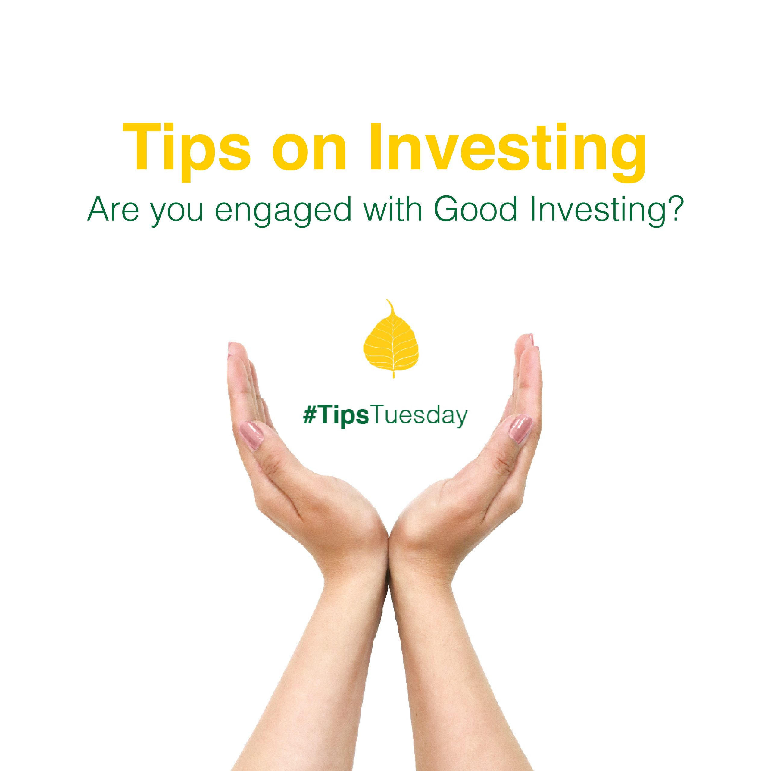 Are you engaged with 'good' investing?
