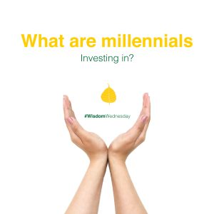 What are millennials investing in?