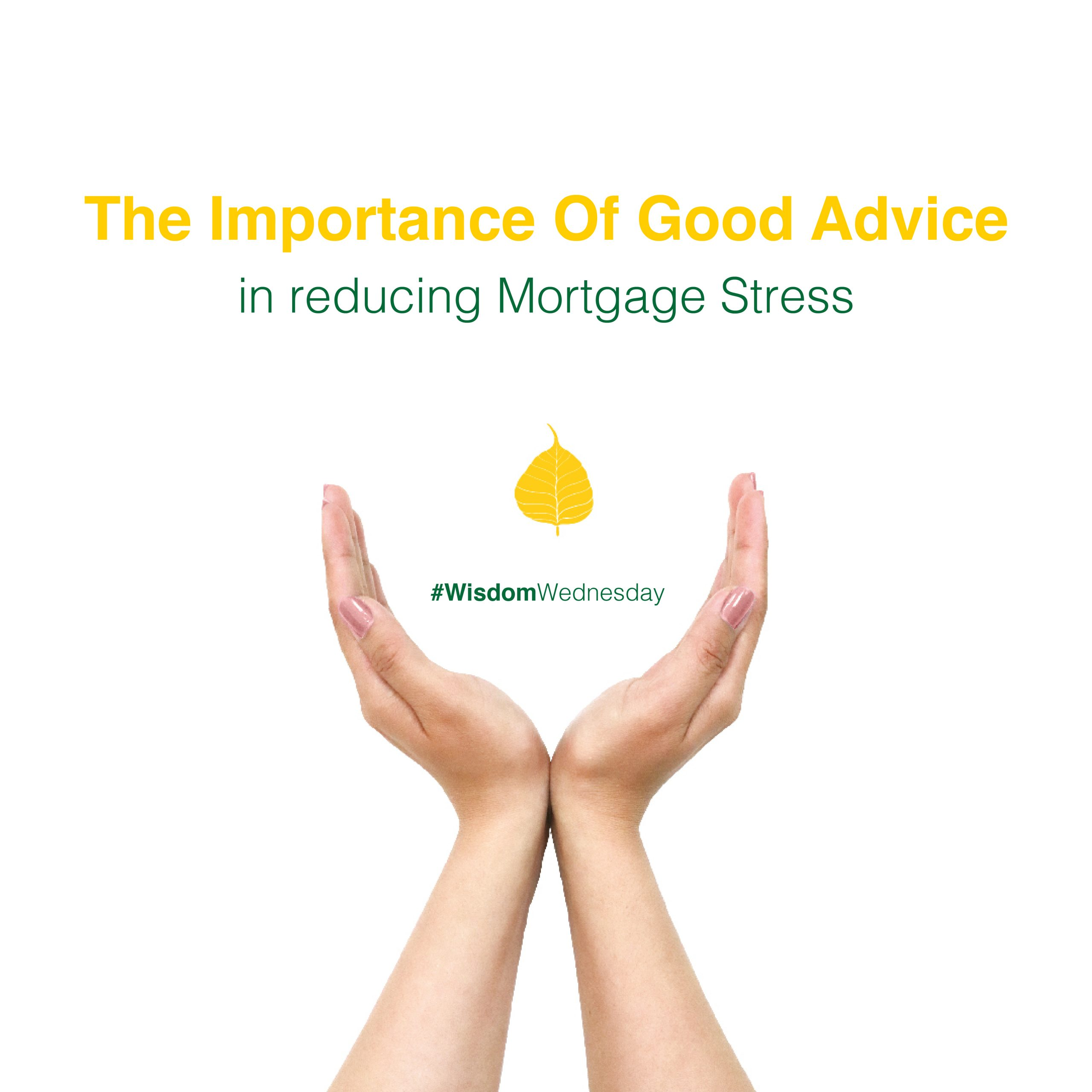 The importance of good advice. Advice makes a difference