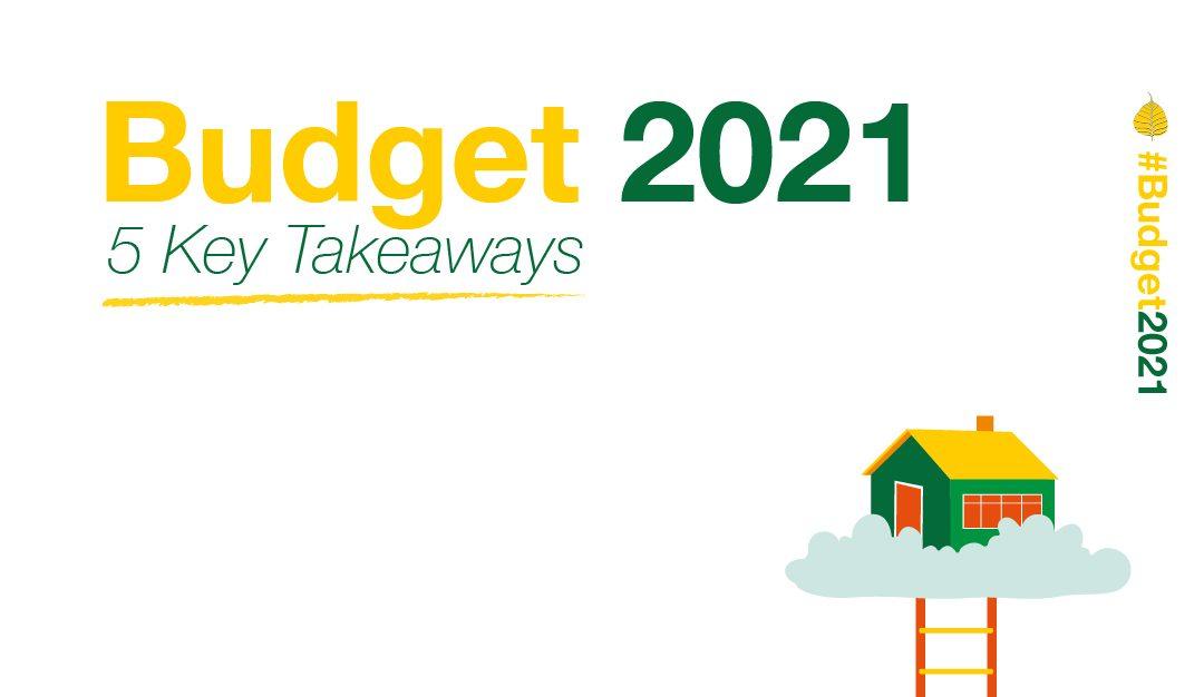 Budget 2021: 5 Key Takeaways