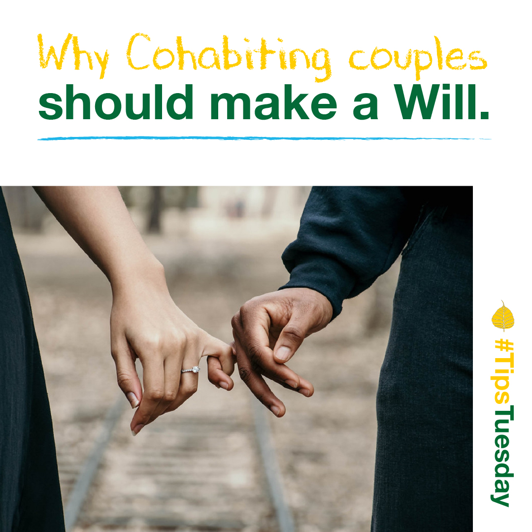Why Cohabiting couples should make a Will